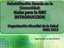 Guías para la RBC