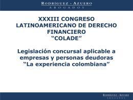 Inversión Extranjera en Colombia Marco jurídico