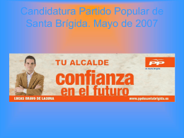 Diapositiva 1 - Partido Popular de Santa Brígida