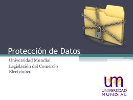 Protección y Clases de Datos