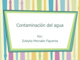 Contaminación del agua - El Blog Educativo de