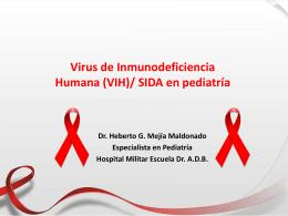 Virus de Inmunodeficiencia Humana (VIH) en