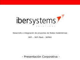 Diapositiva 1 - WiMAX | WiFi | Instalación de