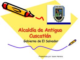 Alcaldía de Antiguo Cuscatlán