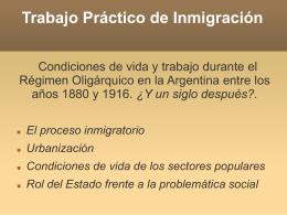 Trabajo Práctico de Inmigración