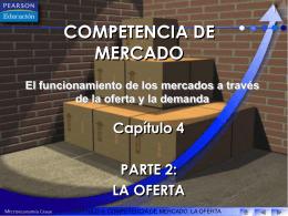 COMPETENCIA DE MERCADO