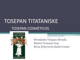 TOSEPAN COSMÉTICOS -