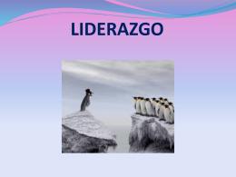 LIDERAZGO - Facultad de Ciencias Económicas
