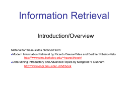 Recuperação de Informação B
