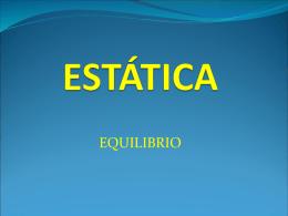 ESTÁTICA - Aula Virtual FCEQyN