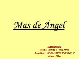 Mas de Ángel