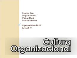 Cultura Organizacional - RRPP UDL | Sólo otro