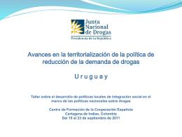 SECRETARÍA NACIONAL DE DROGAS