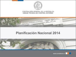 Planificación Nacional 2014