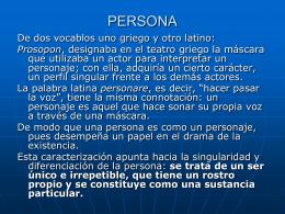 ¿Qué es el personalismo?