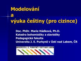 Slovanské jazyky v roli jazyků cizích