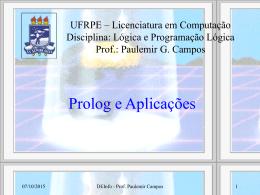 Programação Lógica
