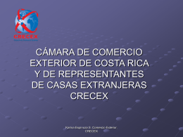 Diapositiva 1 - Cámara Costarricense de