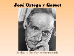 José Ortega y Gasset - Instituto Bilingüe