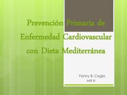 Prevención Primaria de Enfermedad Cardiovascular