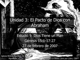 Dios tiene un plan (Génesis)
