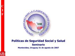 Clasificación Internacional del Funcionamiento de
