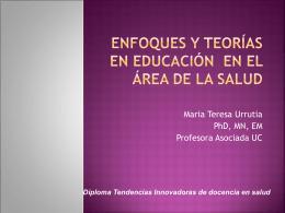 Enfoques y teorías en educación en el área de la