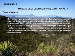 Área Sujeta a Conservación Ecológica Sierra de