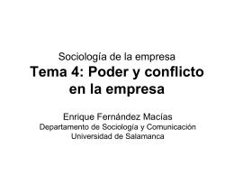 Sociología de la empresa Tema 2: Propiedad y