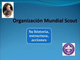 Organización Mundial Scout