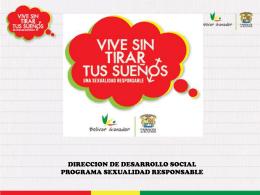 CONVENIO GOBERNACIÓN DE BOLÍVAR Y PROGRAMA MUNDIAL