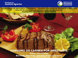 Subsecretaría de Agricultura y Ganadería -