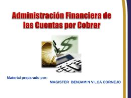 Administración Financiera de las Cuentas por