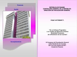 III Congreso de Fiscalización General sobre