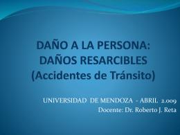 EL DAÑO RESARCIBLE EN EL CÓDIGO CIVIL ARGENTINO