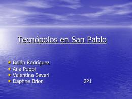 Tecnópolos en San Pablo