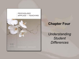Chapter Four - Cengage Learning