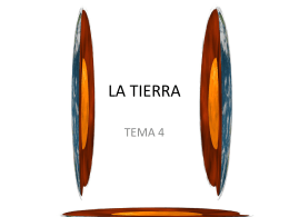 LA TIERRA TEMA 4