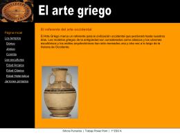 Grecia - Col·legi Reial Monestir Santa Isabel