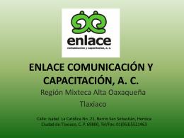 ENLACE COMUNICACIÓN Y CAPACITACIÓN, A. C.