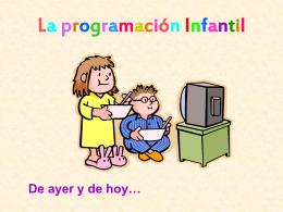 La programación Infantil