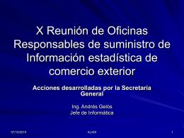 VIII Reunión de Oficinas Responsables de
