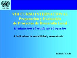 VIII CURSO INTERNACIONAL Preparación y Evaluación