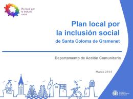 Programa Local de Lluita Contra l'Exclusió Social