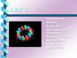 LEDs, qué son y cómo funcionan