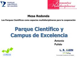 Parque Científico y Campus de Excelencia