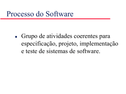 Software Processes - Instituto de Matemática e