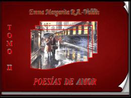 Poesías de amor, tomo II