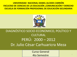 UNIVERSIDAD NACIONAL DANIEL ALCIDES CARRIÓN