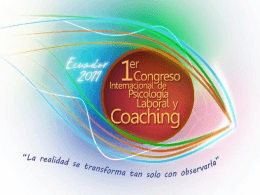 Coaching para Optimizar la Gestión